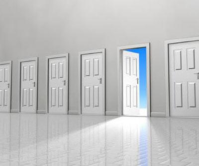 Dios abre y cierra puertas