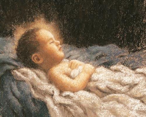 Ni�o Jesus en el pesebre