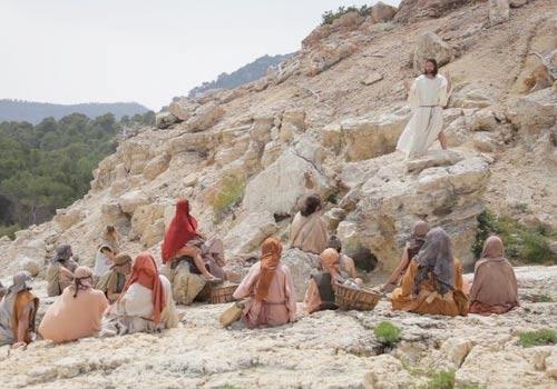 Jesus predicando el reino de Dios