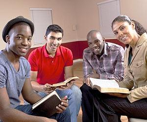 Jovenes Cristianos en un Grupo de Vida