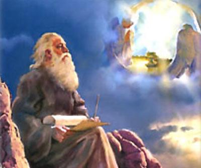 Profeta Iasias viendo una vision de Dios