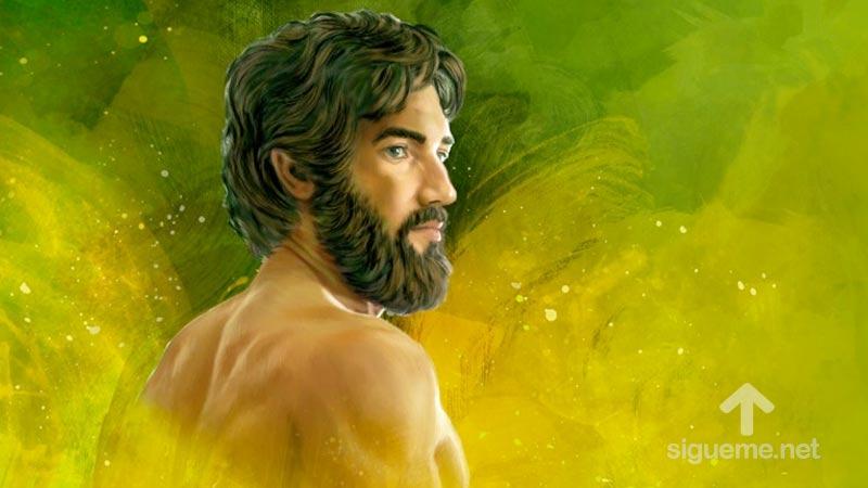 Imagen del personaje biblico ABEL, Hijo de Adan y Eva, del Antiguo Testamento