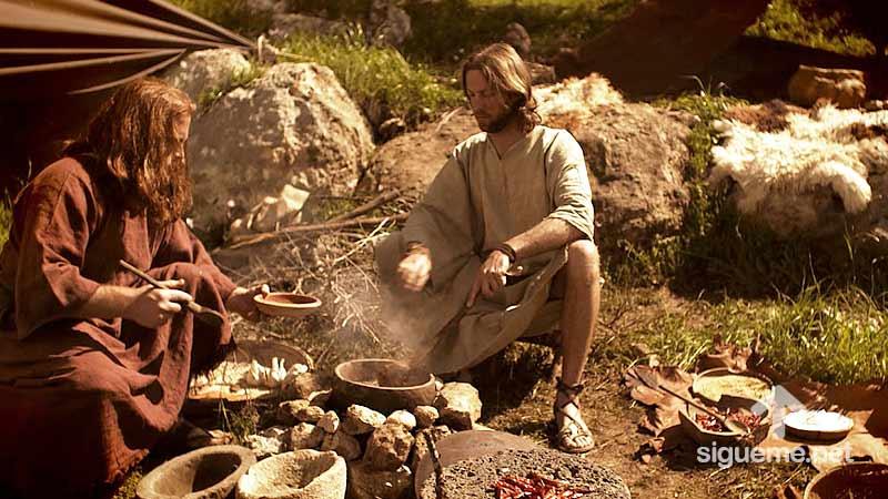 ESAU, Hermano de Jacob, personaje biblico del Antiguo testamento