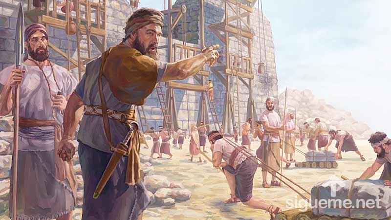 Nehemías, el Líder, personaje biblico del Antiguo testamento