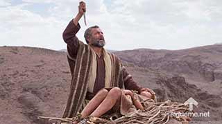 Imagen del personaje biblico ABRAN O ABRAHAM, Padre de Israel, del Antiguo Testamento