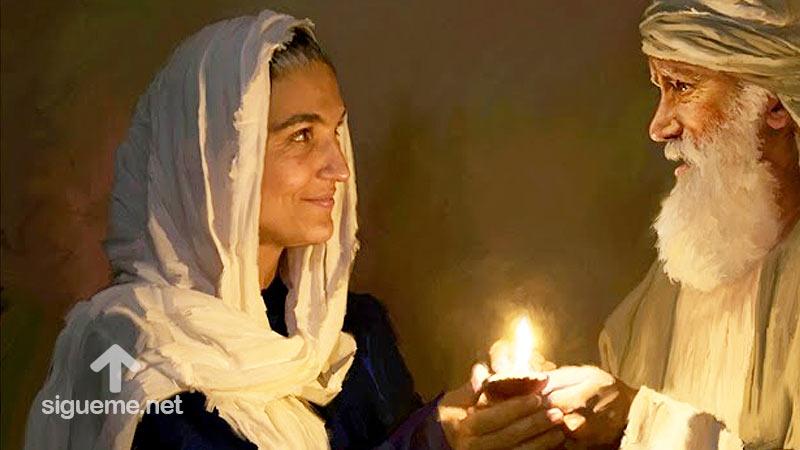 imagen de CETURA, Concubina de Abraham, Mujeres de la Biblia