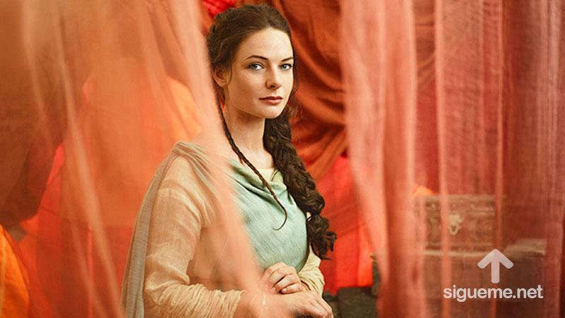 imagen de DINA, hija de Lea y Jacob, mujeres de la Biblia
