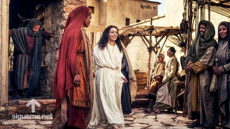 imagen de DORCAS, Tabita, Mujeres de la Biblia