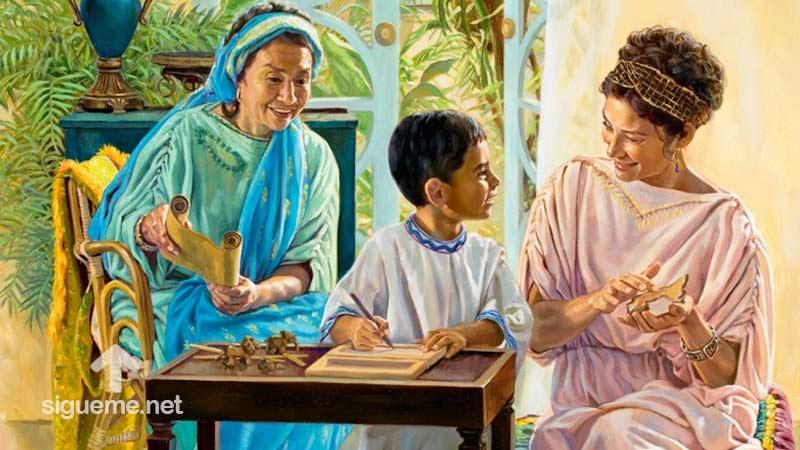 imagen de EUNICE, la Madre de Timoteo, Mujeres de la Biblia