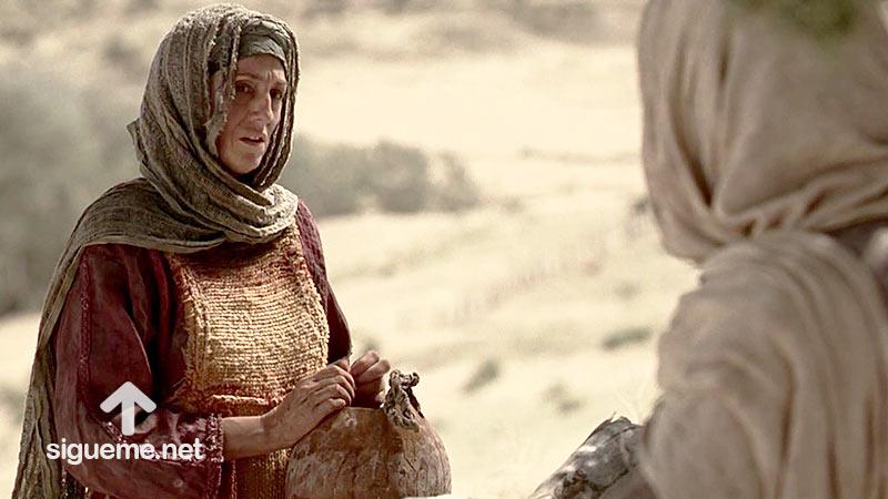 LA MUJER SAMARITANA, Mujer de la Biblia del Nuevo testamento