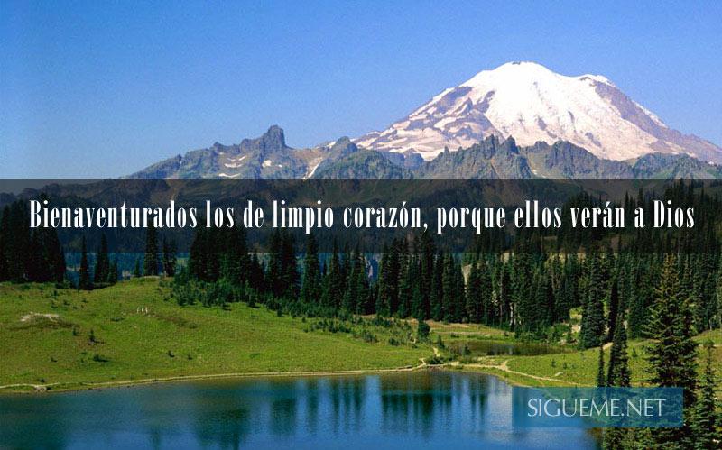 paisaje con lago, montañas y arboles
