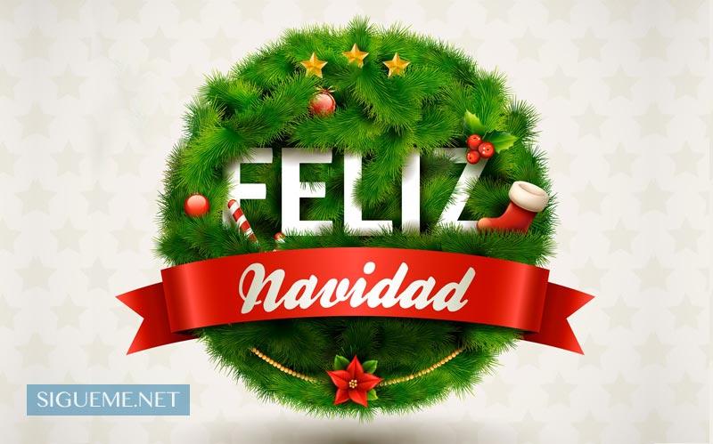 Imagen de Navidad con la frase Feliz Navidad con Jesús