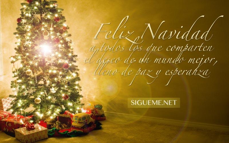 Imagen con la frase Feliz Navidad