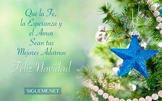 Arbol de Navidad con adornos