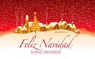 Imagen con la frase Feliz Navidad y Año Nuevo