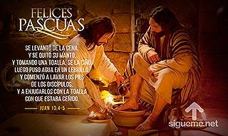 Jesus nos enseña el tremendo valor de la humildad y del amor puesto al servicio del projimo