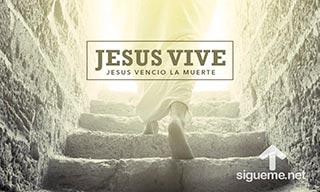 Imagen de saludo de Pascuas Jesucristo Vive ha Resucitado