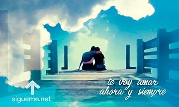 Imagen frase romantica te voy amar ahora y siempre