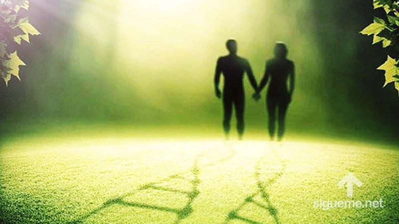 Adan y eva en el huerto del Eden Vs la ciencia y la filosofia