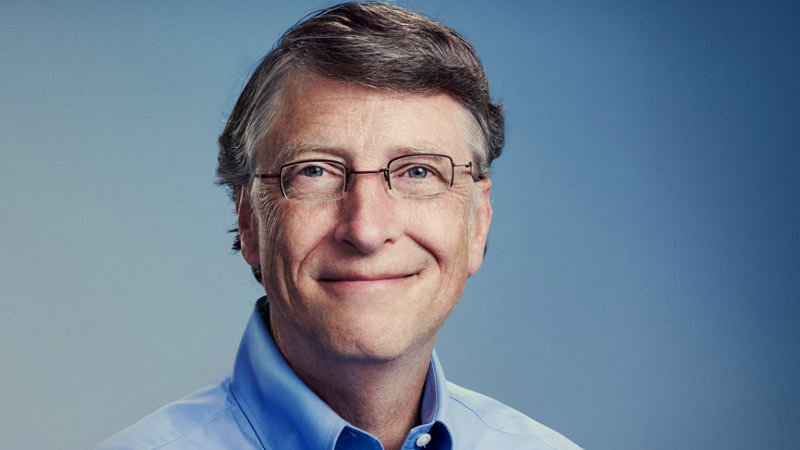 Bill Gates fundador de Microsoft