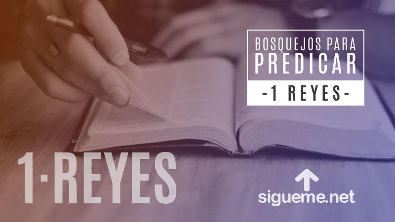 Bosquejo biblico para predicar 1 Reyes 1:5-9, Adonías o el Rebelde Vencido