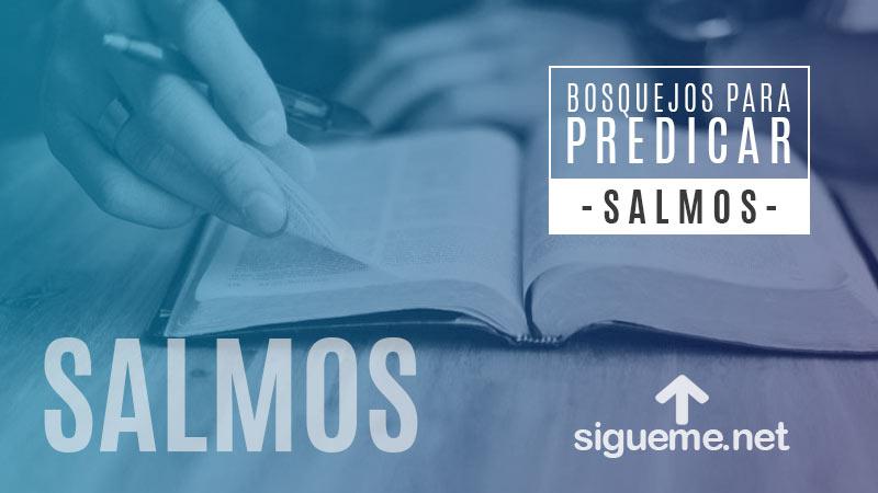 Bosquejo biblico para predicar Salmo 23, Salmo 23, El Señor es Mi Pastor