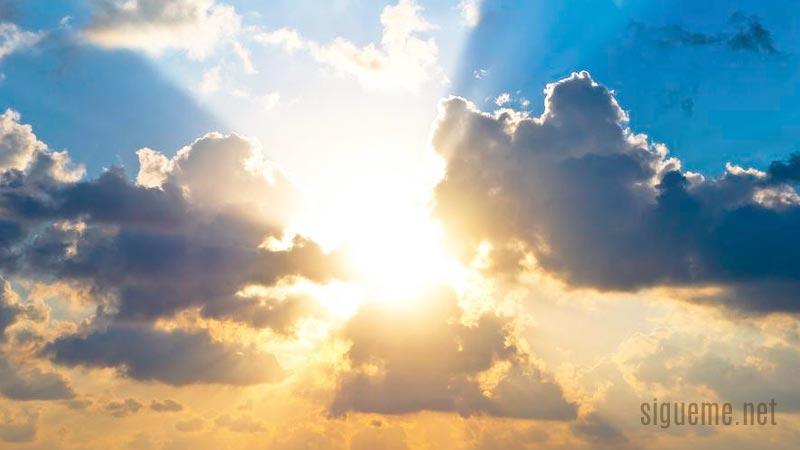 cielo, rayos de luz, respuesta de Dios