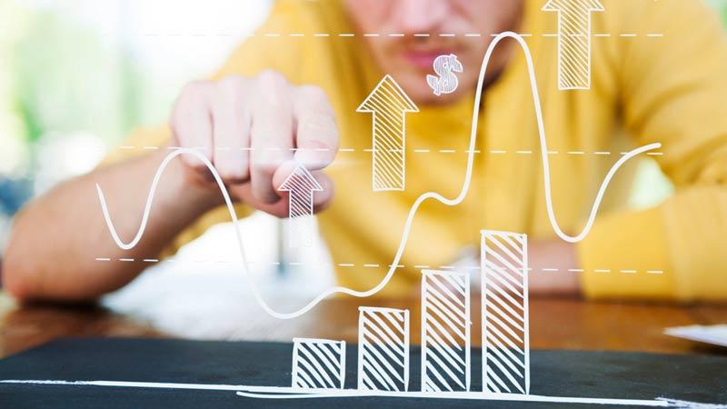Cuadro de estad�sticas de ganancias de  inversiones