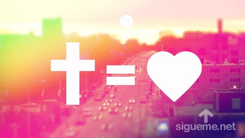 La Biblia nos dice que Dios es Amor