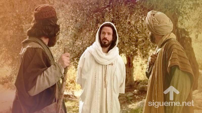 Los discipulos se encuentran con Jesus