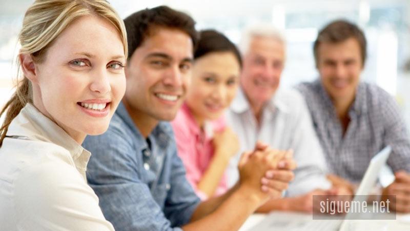 Grupo de emprendedores o empresarios