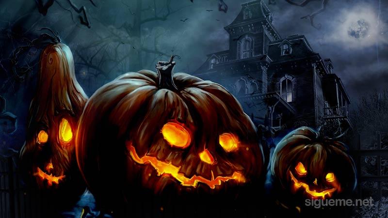 La celebracion de Halloween o noche de brujas