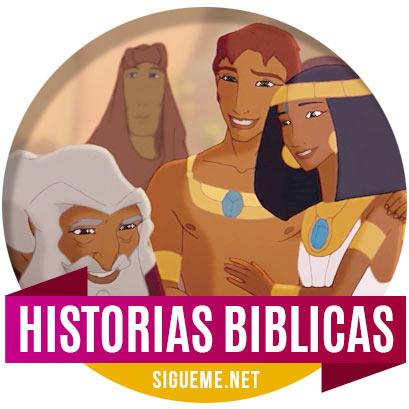 Ilustracion de Historias Biblicas para Niños