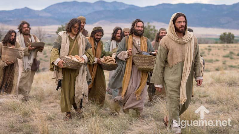 Historia Biblica: Alimentación de los cinco mil
