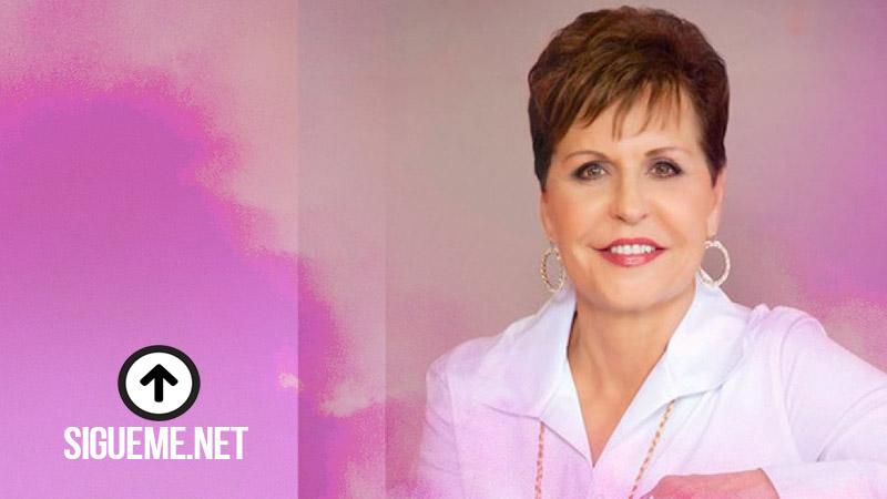 Dice Joyce Meyer: No se conforme con menos de la mejor vida que Dios quiere darle