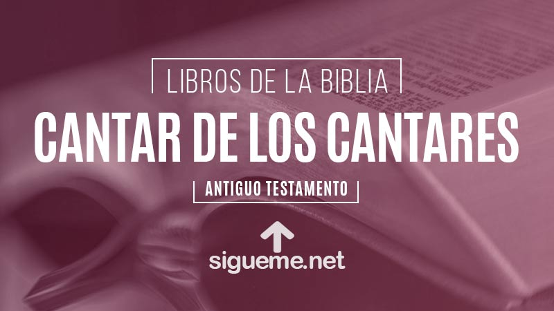 Cantar De Los Cantares Libro De La Biblia Comentario Biblico
