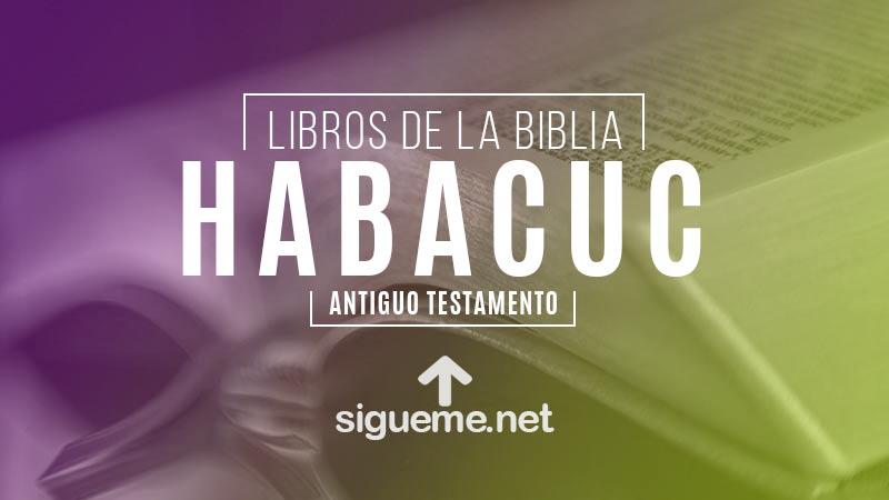 HABACUC, personaje biblico del Antiguo testamento