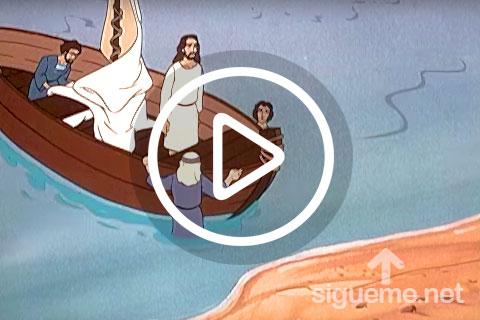 Ilustracion de la serie animada Aguas Encrespadas