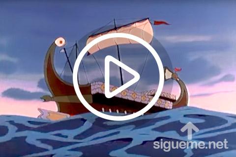 Ilustracion de la serie animada