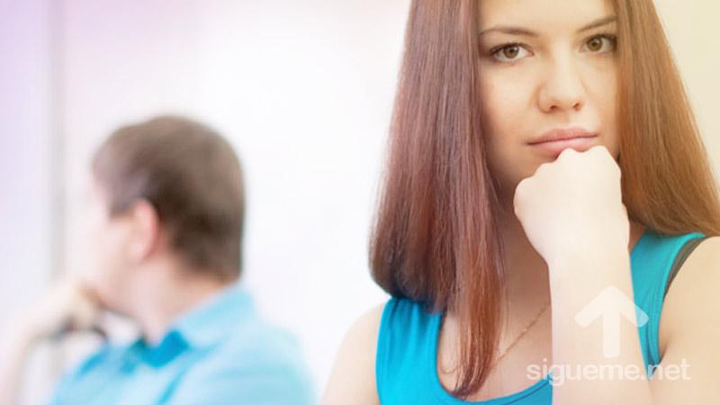 Matrimonio peleado, distanciado, con problemas en la pareja