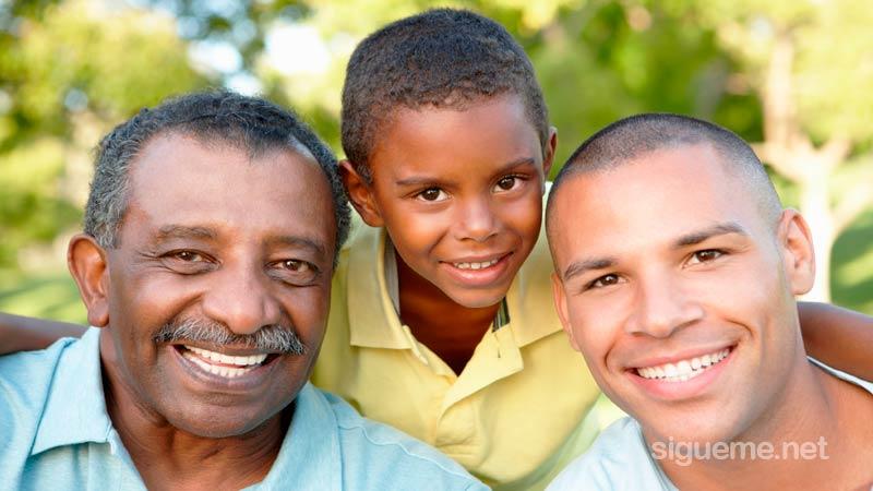 Padre, hijo y abuelo