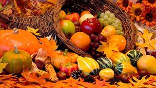 Abundancia, prosperidad, frutos de la tierra