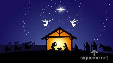 Jesus Nacio en un pesebre en Belen