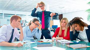 Errores y fracaso en equipo de trabajo
