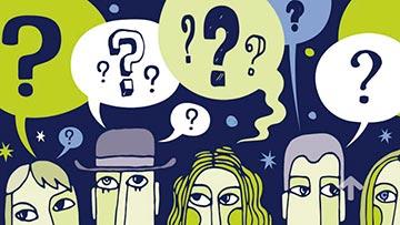 Gente con preguntas, quiere saber de que se trata la politica