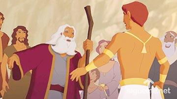 ilustración de: Jacob se encuentra con Jacob en Egipto
