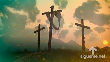 Jesús fue crucificado por nuestros pecados