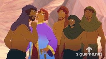 ilustración de: Jose es apresado por sus hermanos