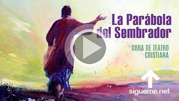 Obra cristiana de La Parabola del sembrador que salio a sembrar