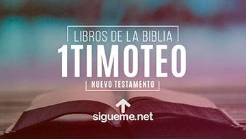 1 TIMOTEO, personaje biblico del Nuevo testamento